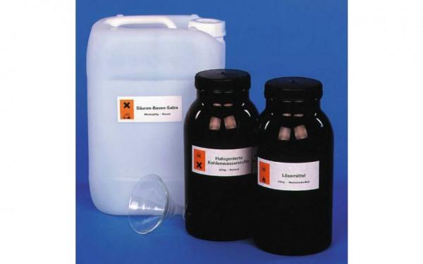 Altchemikalien-Aufbewahrungsset