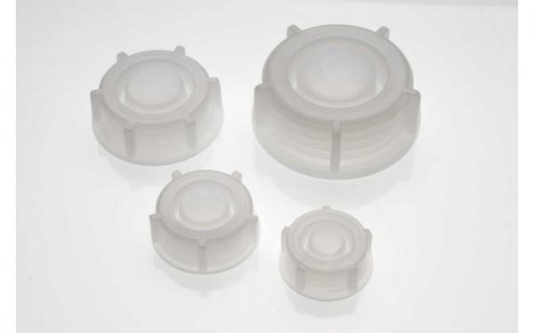 Schraubverschlüsse für PE-Weithalsflaschen