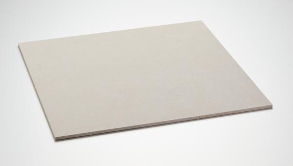 Schutzplatte aus Hartfaser